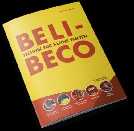 Prospekt für Beli-Beco-Produkte