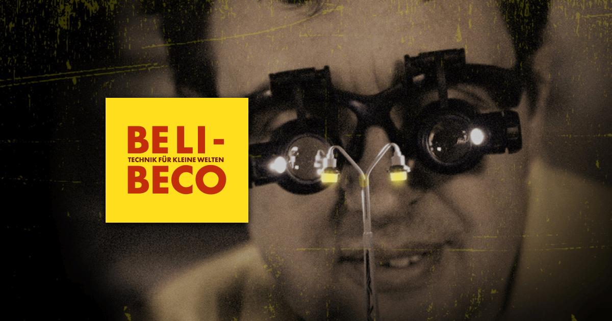 Beli-Beco Lampe Spur 1 Uhrenlampe und Laterne LED Art. 122001 und 122301